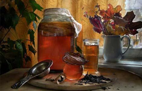 Чайный гриб для похудения: как готовить и пить? Какая польза?